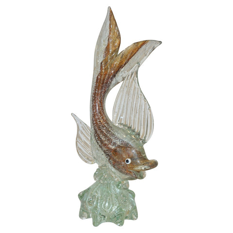 murano-sommerso-amber-and-silver-flecks-art-glass-fish-sculpture-434ph