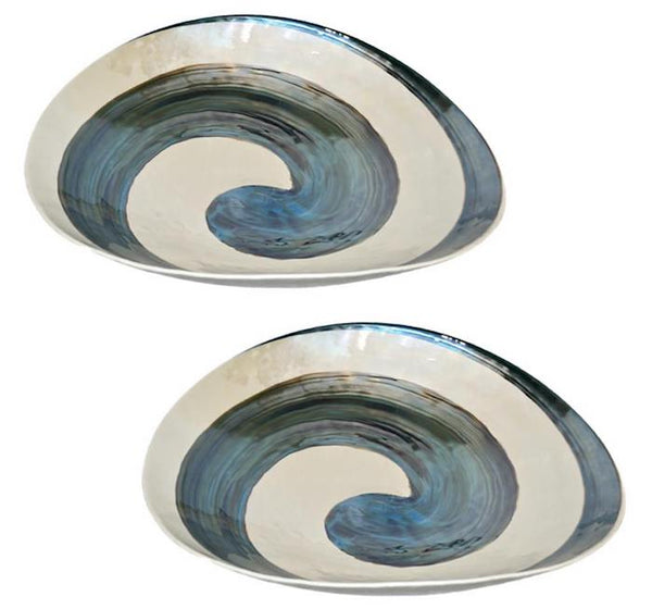 organic-pearl-white-glass-bowls-swirled-blue-murrine