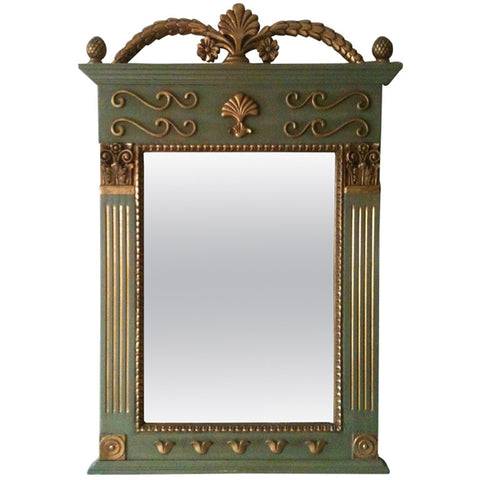 1970s French Decorative Gilt Mirror - Cosulich Interiors & Antiques