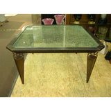 Kuramata Inspired Handcrafted Modern Industrial Italian Dining Center Table