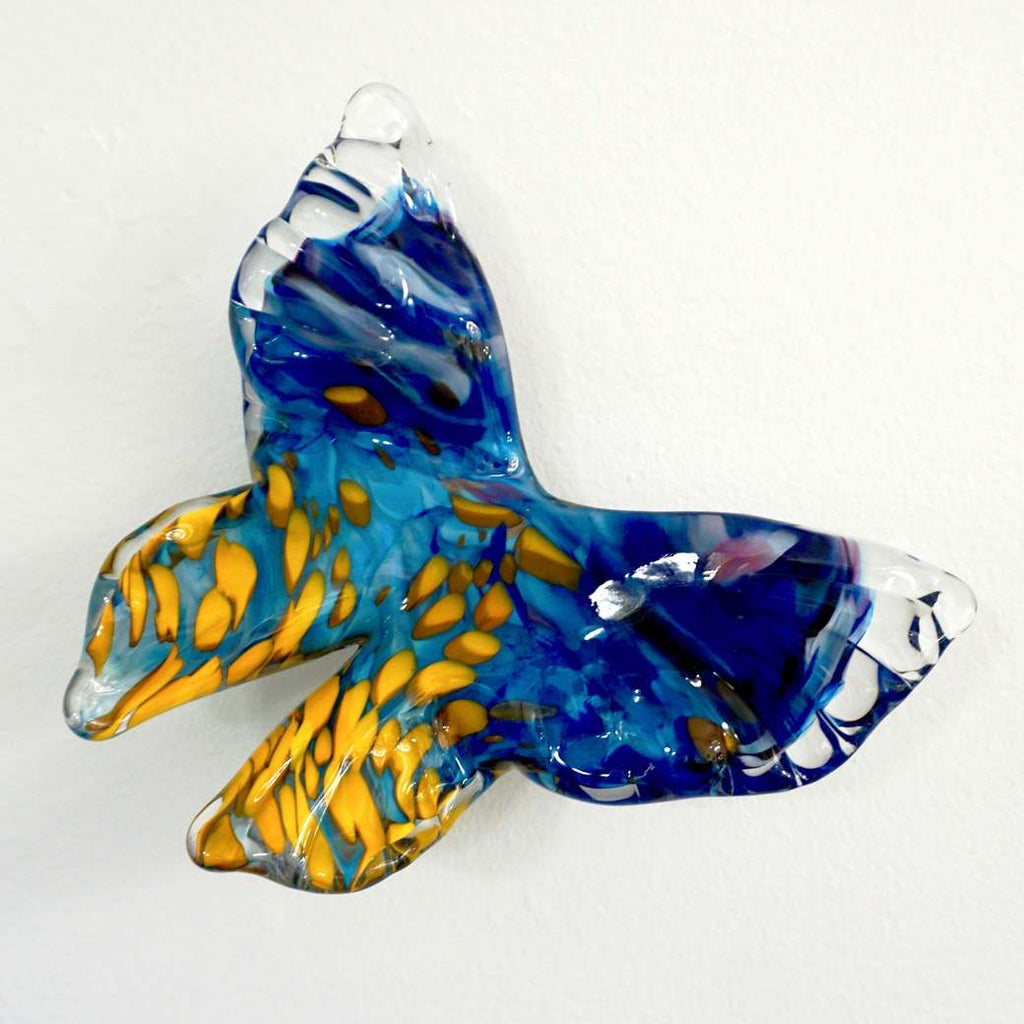 Release - Flight of Butterflies Contemporary Blown Glass Modern Art Sculpture - Cosulich Interiors & Antiques