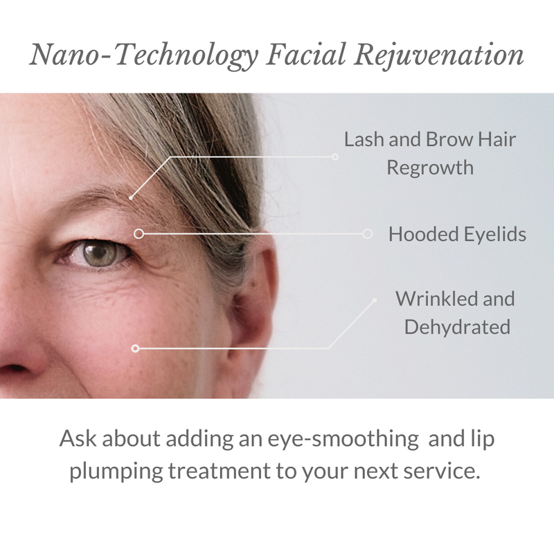 Nano-Technology Facial Rejuvenation - Light Italic - 1080x1080
