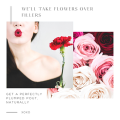 We'll Take Flowers Over Fillers - 1080x1080 Color