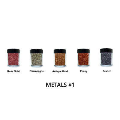 Metal Loose Glitter Set #1