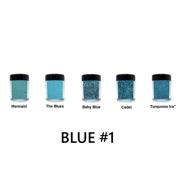 Blue Loose Glitter Set #1