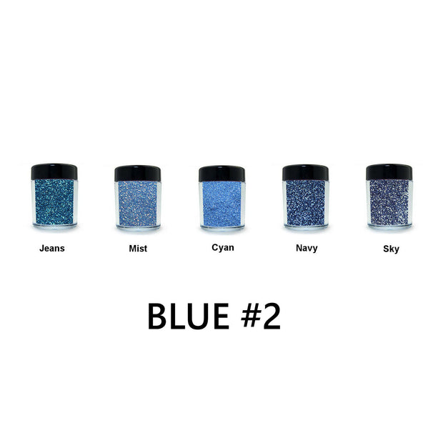 Blue Loose Glitter Set #2
