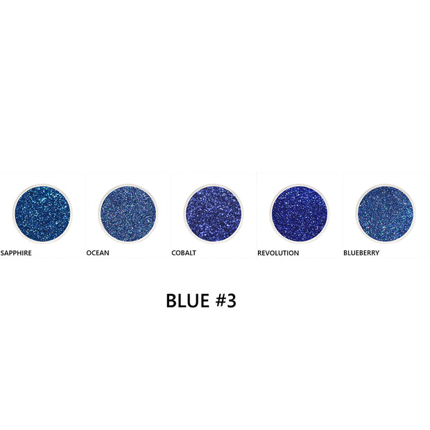 Blue Loose Glitter Set #3