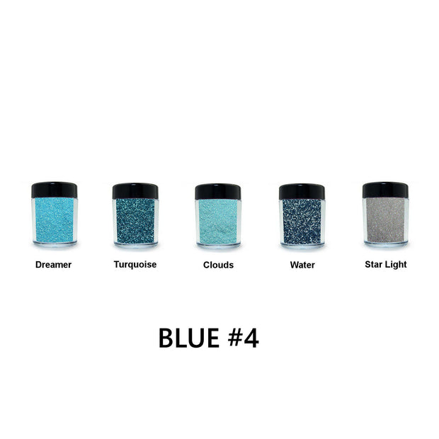 Blue Loose Glitter Set #4