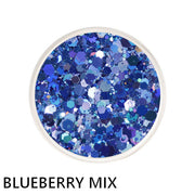 Blueberry Chunky Mix Loose Glitter