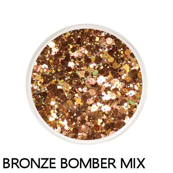 Bronze Bomber Color Changing Loose Glitter