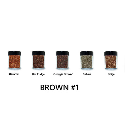 Brown Loose Glitter Set #1