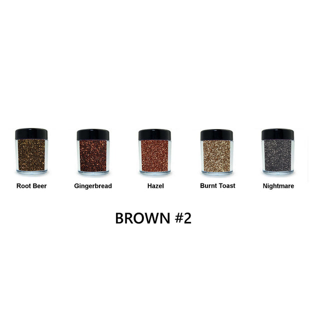 Brown Loose Glitter Set #2