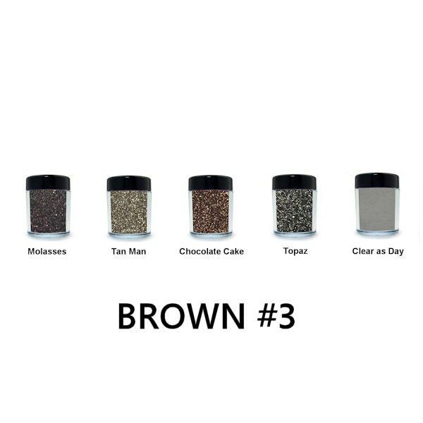 Brown Loose Glitter Set #3