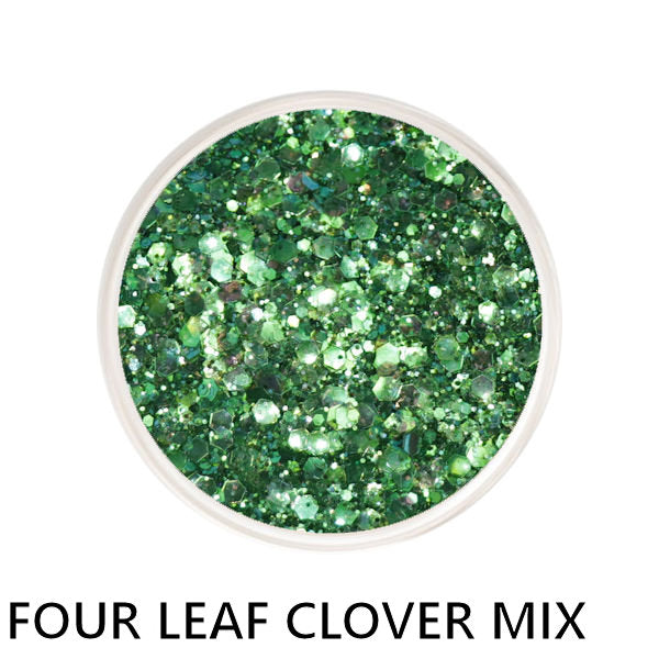 Four Leaf Clover Chunky Mix Loose Glitter