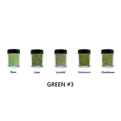Green Loose Glitter Set #3