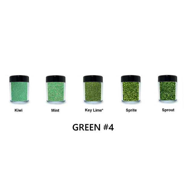 Green Loose Glitter Set #4