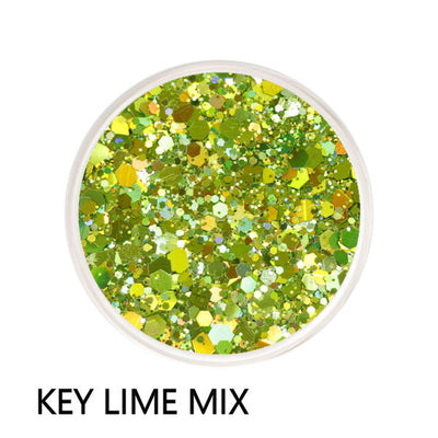 Key Lime Chunky Mix Loose Glitter