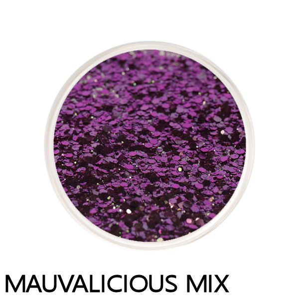 Mauvalicious Color Changing Loose Glitter