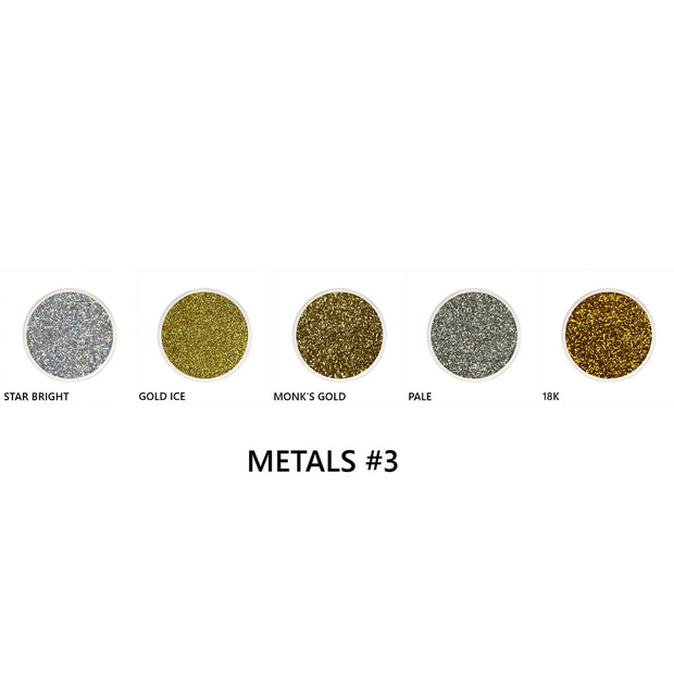 Metal Loose Glitter Set #3