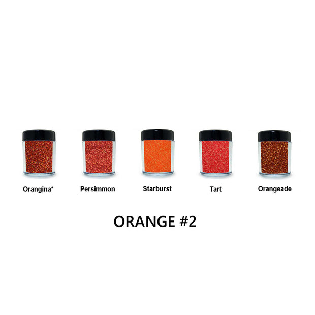 Orange Loose Glitter Set #2