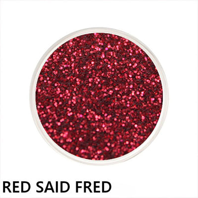 Red Said Fred Loose Glitter