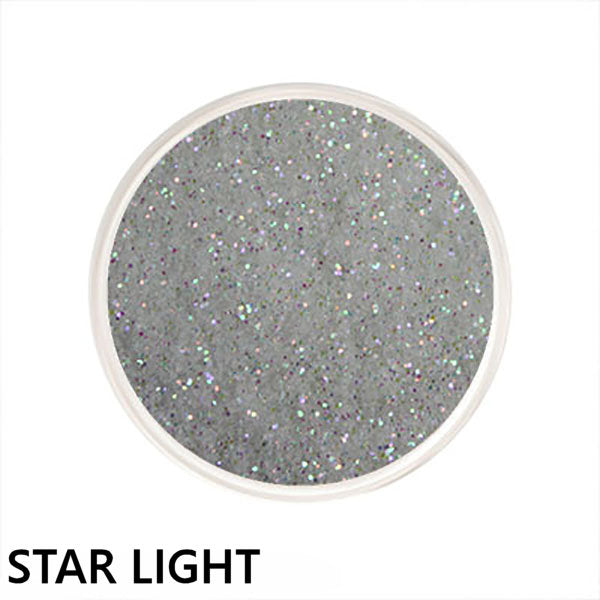 Glitter Glamour White Loose Glitter Colors