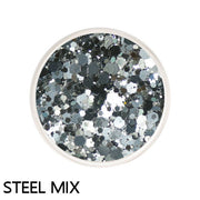 Steel Chunky Mix Loose Glitter