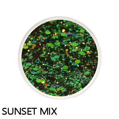 Sunset Mix Color Changing Loose Glitter