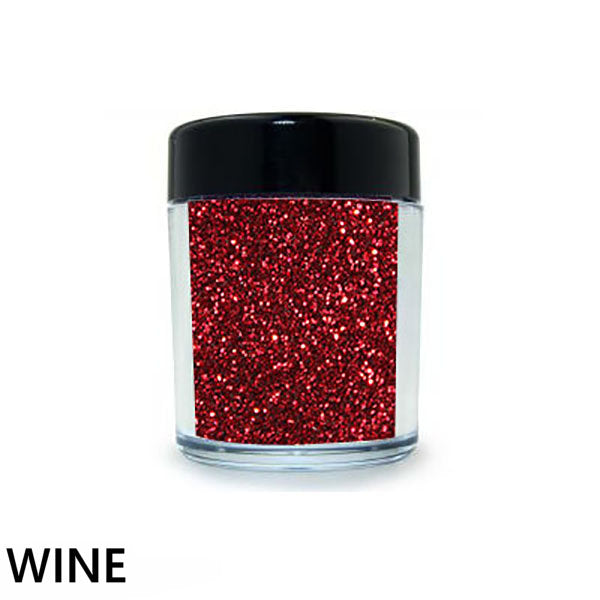 Glitter Glamour Red Loose Glitter Colors
