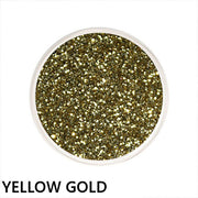 Yellow Gold Loose Glitter