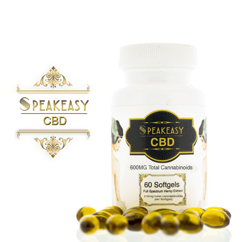 600mg Full Spectrum CBD Softgels