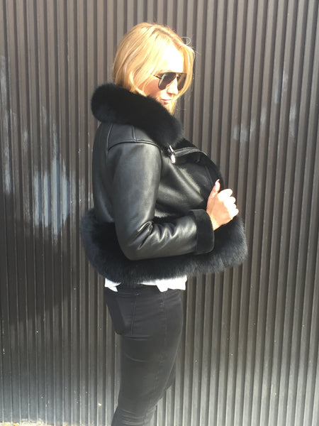 Leather and Fur Outerwear