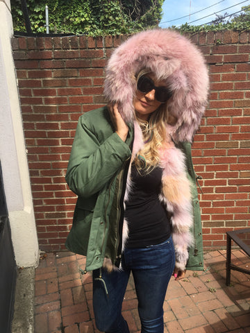 big fur hood parka