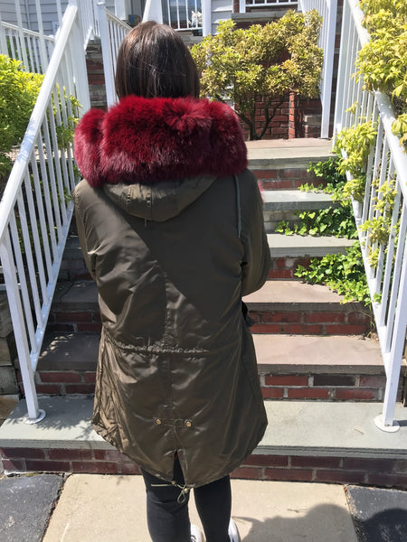 Susan Parka- Luxe fox trim