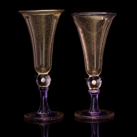 Chris Hurley Serum Champagne Flutes