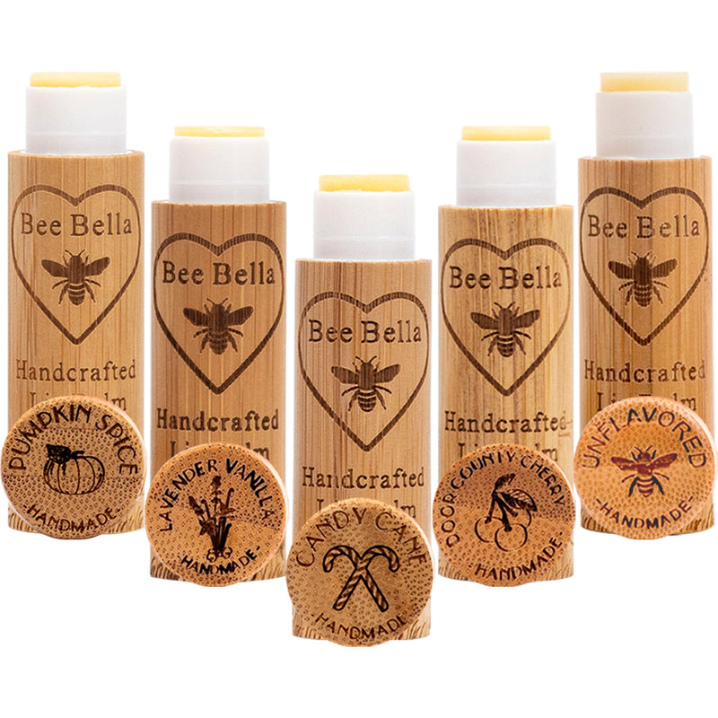 Holiday Variety 5 Pack of Lip Balm