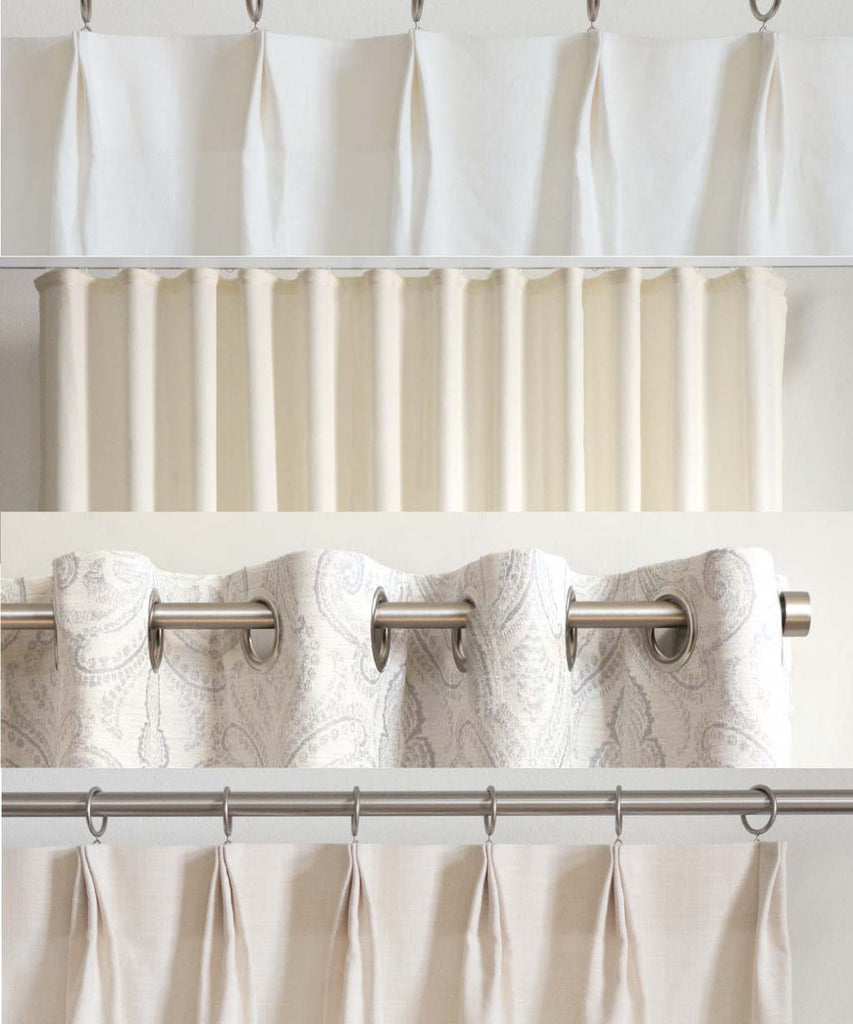 Which curtain heading style should I choose?