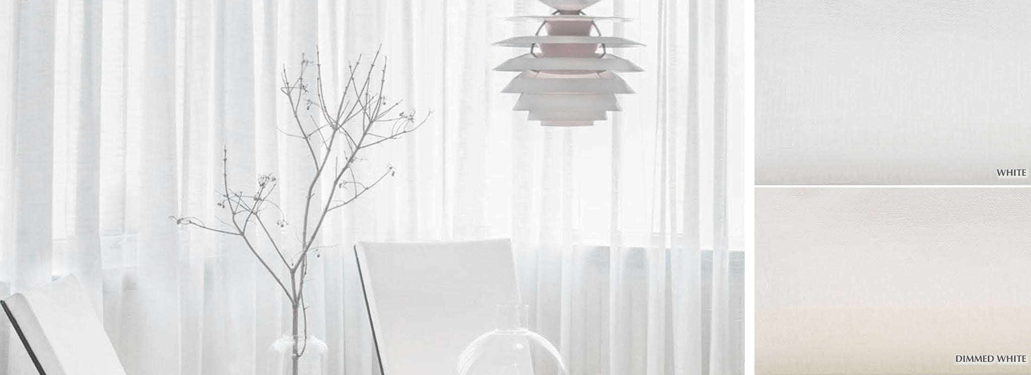 Mist - Collection Curtains Plain weave sheer Fabric