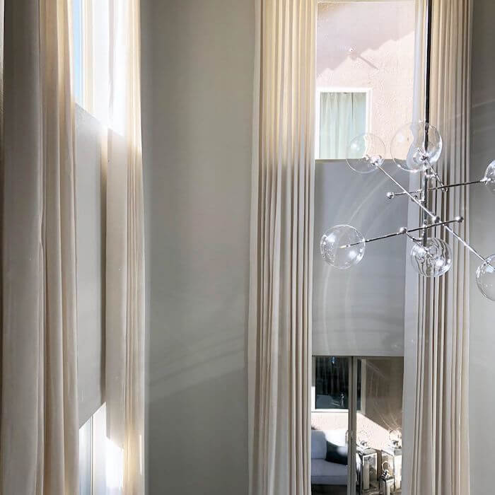 Grace Soft White Curtains Drapery