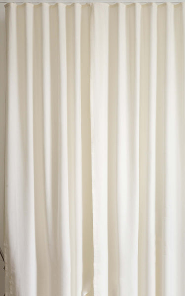 Ripple Fold custom drapes by Loft curtains 100% fullness