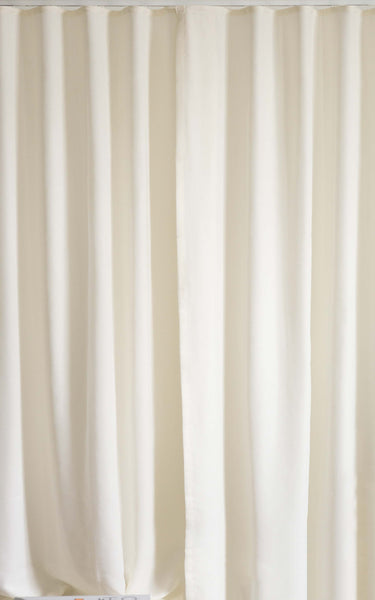 Loft Curtains Ripple fold custom curtains 60% fullness