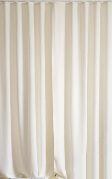 Loft Curtains Ripple Fold heading 80% fullness sheer