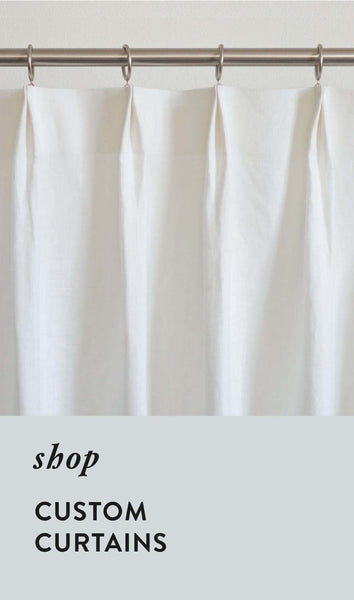Custom Curtains - by loft curtains