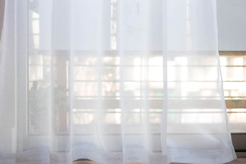voile sheer white custom made curtains by loft curtains