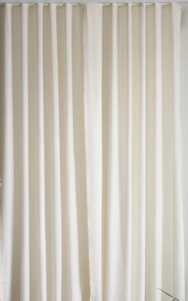 Custom Ripple fold curtains by Loft curtains 120% fullness