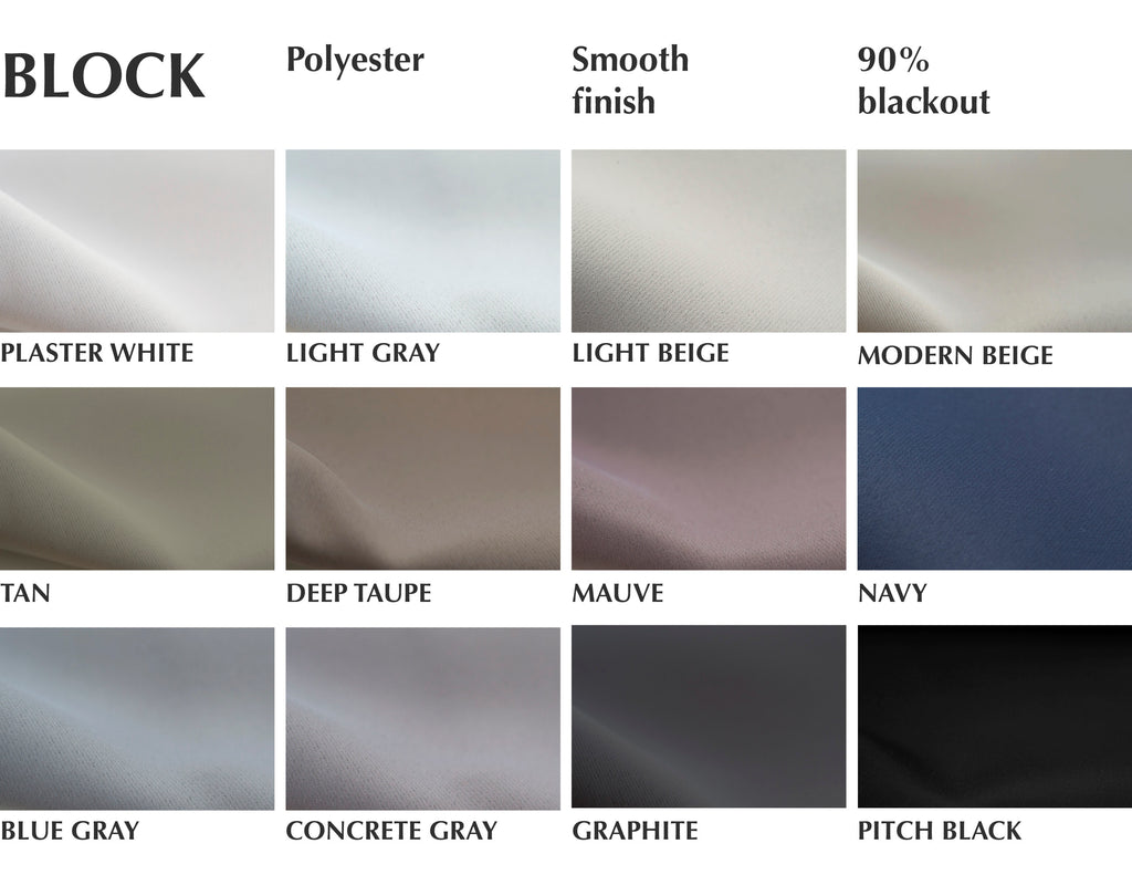 blackout fabric by loft curtains