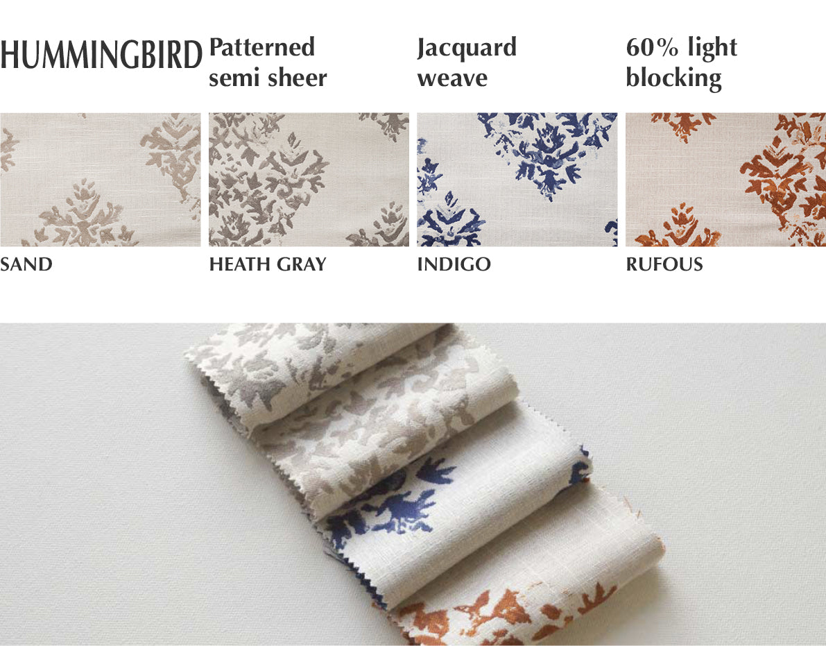 jacuard pattern custom drapery by loft curtains