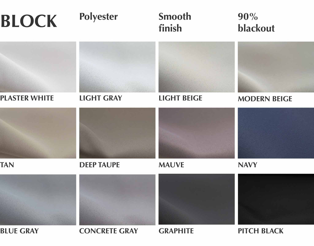 90% blackout fabric by loft curtains