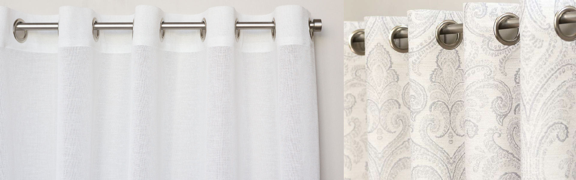 French Pleat - Double, Spa - White, Belgian Linen