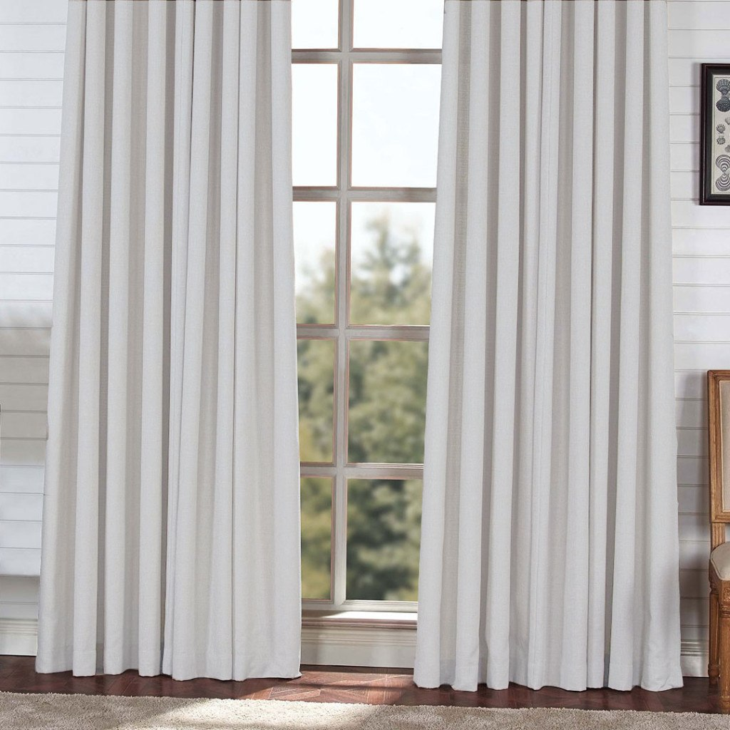 block light weight blackout drapery light gray extra long curtains custom made